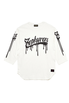 7/S TEE - BEYOND PAINTED - WHITE