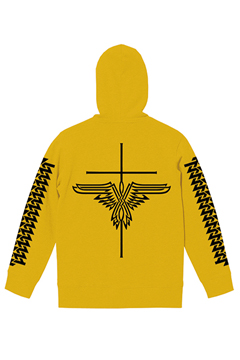 ZIP PARKA -INSTINCT- YELLOW