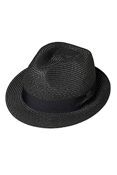 PANAMA HAT BLACK