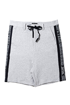 TAPE SWEAT SHORTS GRAY