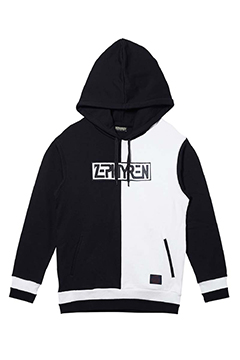 SWITCHING PARKA BLACK / WHITE