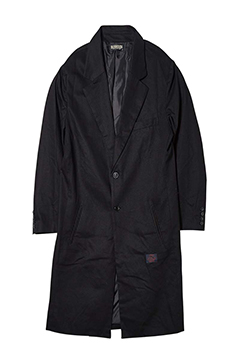 CHESTER COAT BLACK