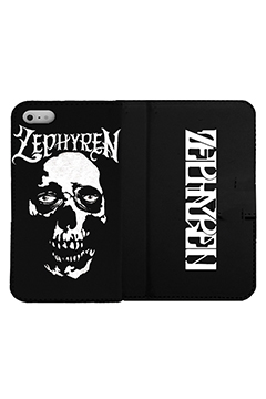 【予約商品】Zephyren(ゼファレン) FLIP iPhone CASE - Skull Head - iPHONE 11