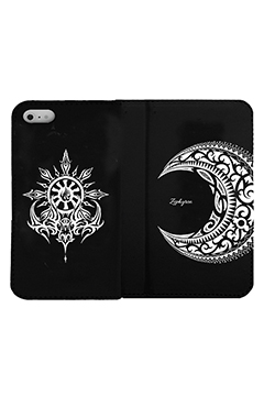 【予約商品】Zephyren(ゼファレン) FLIP iPhone CASE - MOON - iPHONE 11