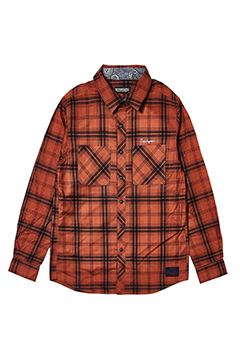 CHECK SHIRT L/S - Resolve - RED