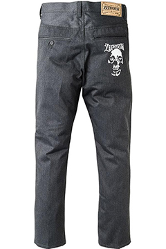 WORK PANTS -SKULL HEAD- CHA