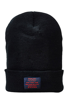 LONG BEANIE -You Are Here- BLK
