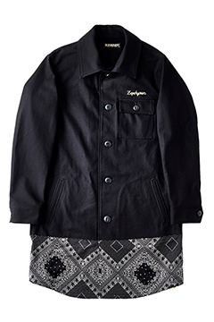 SWITCHING SAFARI JKT -Resolve- BLK/PAS