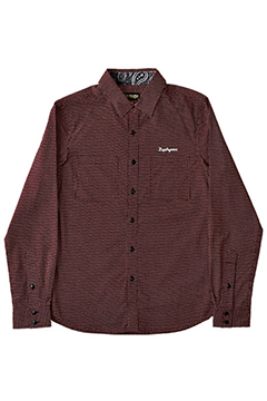 WORK SHIRT L/S -HIGH TIME- BGN/DOT