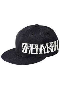 SIDE EMBROYDERY B.B CAP  -VISIONARY- BLK/PAS