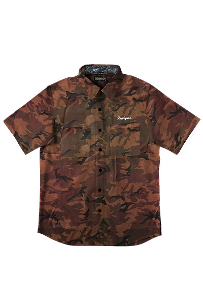 CAMOUFLAGE SHIRT -Charmed SQ Tone- CMO/Ⅰ