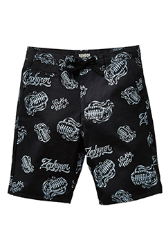 CHINO SHORTS -Microphones- BLK