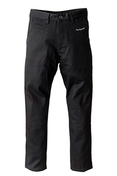 WORK PANTS -EMBLEM- BLK