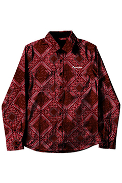 PAISLEY SHIRT L/S -Resolve- RED