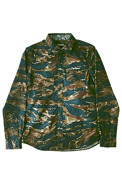 CAMOUFLAGE SHIRT L/S -Charmed SQ Tone- CMO/V