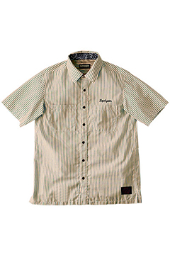 STRIPE SHIRT S/S -CASINO- BGE