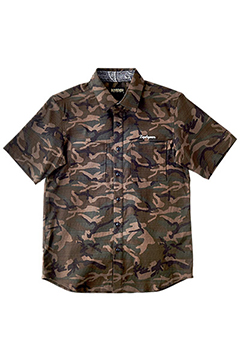 CAMOUFLAGE SHIRT S/S -Charmed SQ Tone- CMO/I