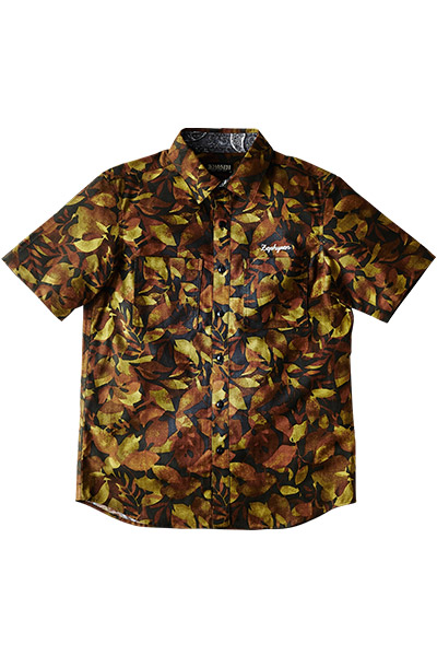 CAMOUFLAGE SHIRT S/S -Charmed SQ Tone- CMO/V