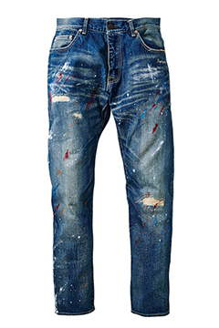 DENIM -DANNY- HARD-WASH-IIxPAINT