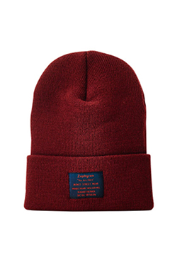 LONG BEANIE -You Are Here- BURGUNDY