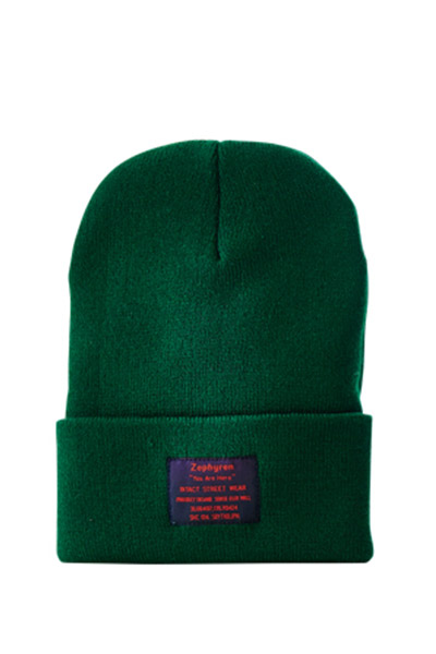 LONG BEANIE -You Are Here- DEEP-GREEN