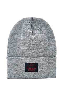LONG BEANIE -You Are Here- GRAY