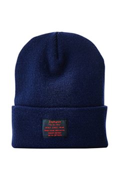 LONG BEANIE -You Are Here- NAVY