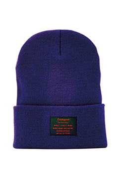 LONG BEANIE -You Are Here- PURPLE