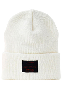 LONG BEANIE -You Are Here- WHITE