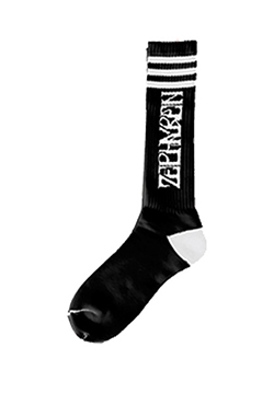 GYM SOX -VISIONARY- BLACKxWHITE