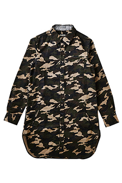 LONG SHIRT L/S -Resolve- CAMO