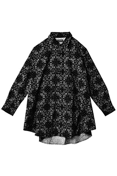 PONCHO SHIRT L/S -Resolve- PAISLEY