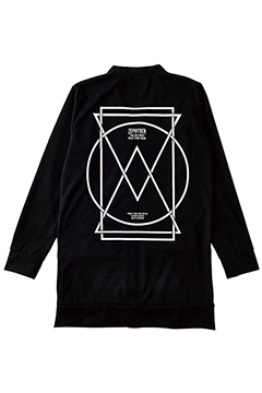 LONG CARDIGAN BLACK-PORTAL