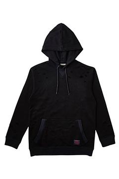 【予約商品】CLASHED PARKA BLACK