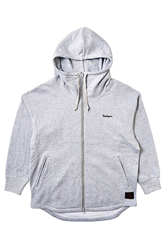 BIG ZIP PARKA GRAY