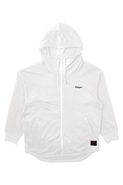BIG ZIP PARKA WHITE