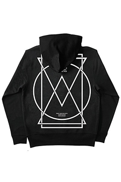 ZIP PARKA -PORTAL- BLACK