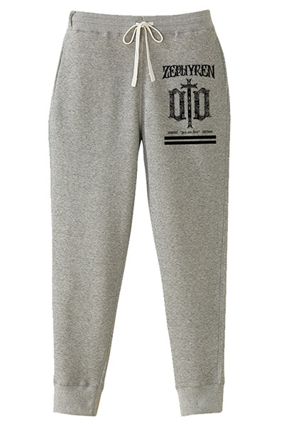 SWEAT PANTS -ENGRAVE- GRAY