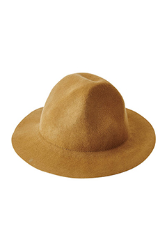 BIRD MOUNTAIN HAT CAMEL