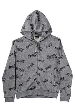 ZIP PARKA -CocaCola- GRAY