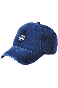 TWILL CAP -ENGRAVE- NAVY
