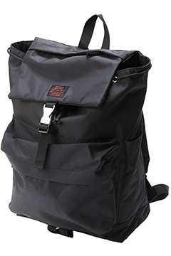 FLAP BACKPACK BLACK