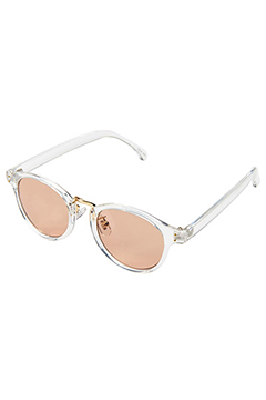 SUNGLASS-CONY- CLEARxBROWN