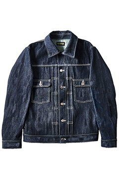 DENIM JKT ONE-WASH
