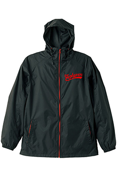 HOOD COACH JKT-BEYOND- BLK-RED