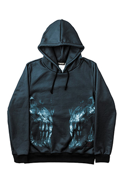 PARKA -X-RAY SKULL- BIG-SKL