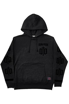 LIGHT WEIGHT PARKA-ENGRAVE- BLK-BLK
