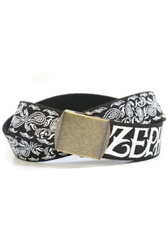 PAISLEY G.I BELT BLACK