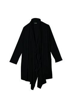 Zephyren (ゼファレン) LONG DRAPE CARDIGAN BLACK