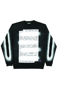 Zephyren (ゼファレン) SWEAT -PLEDGE- BLACK